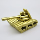 Modern Metal Type 95 Tank Model Desk Car Figurines Bullet Shell Crafts Vintage Home Decoration Accessories Birthday Gifts Toys