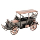 Vintage Alloy Classic Car Model Crafts Car Statue Decorative Ornaments Office Bedroom Home Figurines Miniatures Accessories