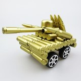 Four-Wheeled Tank Home Decoration Bullet Shell Crafts Military Model Ornaments Scenic Tourist Souvenirs Kids Toys Gift