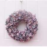 Floral Artificial Rose Wreath Door Hanging Wall Window Decoration Wreath Holiday Festival Wedding Decor