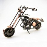Classical 3D DIY Handmade Motor Model Car Ornament Motorbike Decoration Motorcycle Dispaly Souvenirs Artwork Creative Gift Cycle