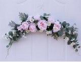 Artificial flower garland Rose lintel strip for wedding door decoration door decor rose garlands wedding arch
