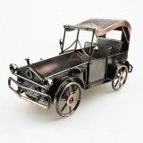Vintage 3D Handmade Classic Car Model Truck Ornament Bubble Car Automobile Decoration Automotive Display Touring Car Souvenirs