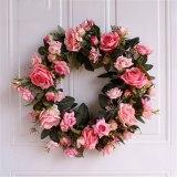 Door Wreath Large Garland Artificial Flower Wreath Wall Hanging Door Decoration Home Decoration High Quality Silk Flower