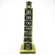 Classical 3D Handmade Leaning Tower of Pisa Decoration Tower Model Torre Pendente Display Campanile di Pisa Toy Torre di Pisa