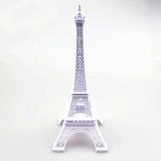 Classical 3D Handmade Tower Model Eiffel Tower Decoration Artwork Dispaly Souvenirs Gift Table Ornament Paris Construction Model
