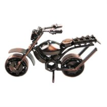 Vintage 3D Toy Handmade Iron Make Simulation Motorbike Decoration Home Cafe Office Artwork Ornament Scrambling Motorcycle Model