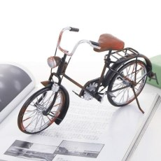 Vintage 3D Handmade Iron Material Home Cafe Ornament Classic Car Jewelry Bicycle Decoration Bike Model Mine bicycle Diy Toy Gift