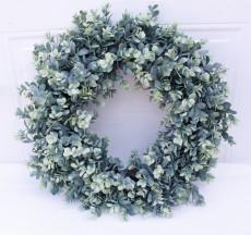 Copy Soft Eucalyptus Wreath Multicolor 46cm Door Ornaments Wall Ornaments Christmas Decoration Portable Ornaments Party Supplies