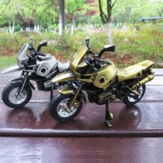 Fashion 3D Handmade Toy Simulation Mini Motorcycle Decoration Home Cafe Office Ornament Motorbike Model Sport Fans Gift Machine