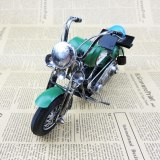 Vintage 3D Handmade Car Model Motorbike Ornament Motorcycle Decoration Motor Dispaly Classic Souvenirs Artwork Gift Iron Metal