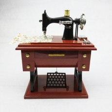 Classical 3D DIY Handmade Sewing Machine Model Sartorius Ornament Furniture Decoration Souvenir Gift For Mother simulation model