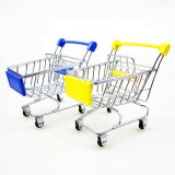 Classical 3D Handmade Car Model Shopping Cart Decoration Shopping Trolley Ornament Articles of Daily Use Souvenir Gift Artwork
