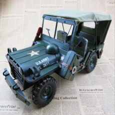 New Design 3D Handmade Car Model Simulation Truck Ornament Off-Road Vehicle Decoration Automobile Artwork Display Iron Material