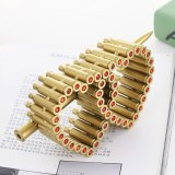 NewDesign Handmede Heart Model Iron Material Simulation Bullet Shell Ornament Love Gift for Wife Crystal Charm Bullet Decoration
