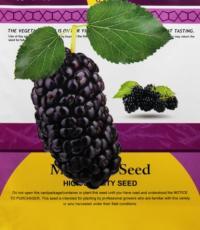 Original Pack 100PCS Mulberry seeds Blackish Purple Big Fruit Edible