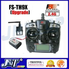Flysky 2.4G 9ch FS FS-TH9X Transmitter & Receiver Combo TX RX Control System For RC Helicopter Airplane
