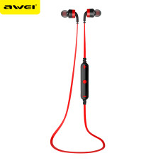 Awei A960BL Wireless Bluetooth 4.0 Sport Headset Noise Reduction Earbud Stereo In-ear Earphone Sport for Mobile Phone
