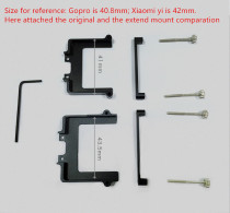 Extend Mount Change Replacement for Xiaomi Yi Sj4000 AEE Cameras from Gopro Cam with Feiyu FY WG Wearable Gimbal