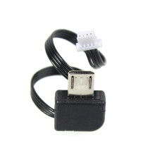 Camera Micro USB Opladen AV Video Output Kabel voor Feiyu MINI 3D MINI 2D RC Borstelloze Gimbal voor SJ4000 5000/6000 SJ