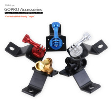 Colorful CNC Aluminum Motorcycle Tripod Mount Bracket with Screw for GoPro HERO3/3+/4/5 Action Camera