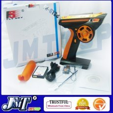 2012 Flysky FS-GT3C FS GT3C 2.4G 3CH Gun RC Controller /w Receiver,TX battery,USB Cable Upgraded FS-GT3B