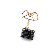 5.8G 25mW 32CH Mini Tiny AV Transmitter TX with 520TVL Camera for DIY Indoor Brushed Racing Drone FPV Better Than FX797T