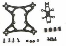 KINGKONG 90GT Frame Kit Carbon Fiber for RC Drone Quadcopter NO Electronic Parts