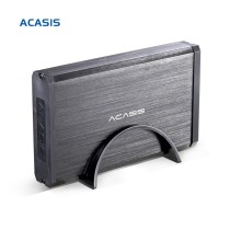 High Quality Aluminum Alloy BA-06US 3.5 Inch USB 3.0 To SATA External HDD Enclosure 4TB Hard Drive Acasis
