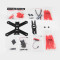 KINGKONG 210 KIT Frame 210MM Carbon Fiber High strength Mini Rack for RC Quadcopter Racing Drone Aircraft