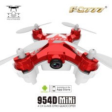 FQ777-954D WIFI FPV Drone with Camera Altitude Hold Mode 3D Flip 6-AXIS RC Nano Quadcopter BNF APP control