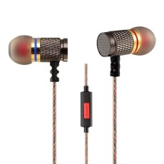AB14048 KZ EDR1 3.5mm In-ear Earphone Fone De Ouvido with Microphone for DJ Music Calling MobilePhone Computer MP3 Headp