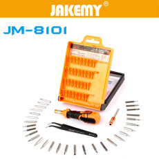 JAKEMY 33 in 1 Multifunctional Precision Screwdriver Set For iPhone Laptop Mini Electronic Screwdriver Bits Repair Tools