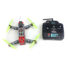 KINGKONG FPV 260 Across Frame Small Quadcopter with Motor ESC Flight Control Opensource 6Ch TX & RX RTF Drone