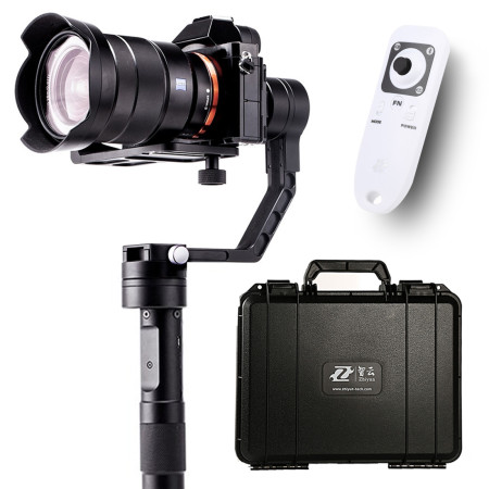 Zhiyun Crane Handheld Stabilizer gimbal With Case Remote Controller for DSLR Canon Cameras Support 1.2KG