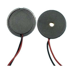 20Pcs 1710 Dia 17mm Passive Piezo Buzzer with Lead Wire Buzzerphone Alarm