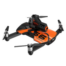 WINGSLAND S6 Foldable Pocket FPV 4K Camera Drone with Pinball Boom Propeller Guard