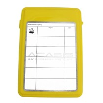 14249TW ACASIS AC-35 3.5 inch Hard Disk Protection Box Storage Hard Cover HDD Enclosure Case Color Yellow