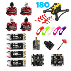 KingKong RAMMUS 180+FPV PNP Kit Electrical Combo with 2205 2300KV Motor F3 PLUS 700TVL Camera 20A ESC 5.8G VTX Propeller