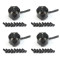 4PCS Mini 1104 4000KV Brushless Motor for DIY Micro 100 120 130 150 RC Racing Quadcopter Drone Multicopter