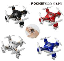 Best Fashion FQ777-124 micro Drone 4CH quadcopter With Switchable Controller RTF/online shopping RC helicopter best Choo
