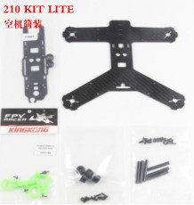 KINGKONG 210GT KIT LITE Frame 210MM Carbon Fiber High strength Mini Rack for RC Quadcopter Racing Drone Aircraft
