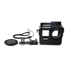 GoPro Accessories Multifunction Aluminium Protective Frame Housing Case Dog Cage for Gopro Hero 4