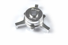 F06852 Tarot CCPM Metal Swashplate Silver TL2233-01 for Trex 600 700 RC Helicopter