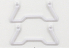 FQ777 124-9 2pcs Landing Gear Skid for FQ777 MINI Pocket Drone Quadcopter White