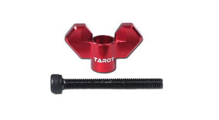 F08634 Tarot M4 Butterfly Screws Red TL9606-02 for RC Helicopters Quadcopter FPV
