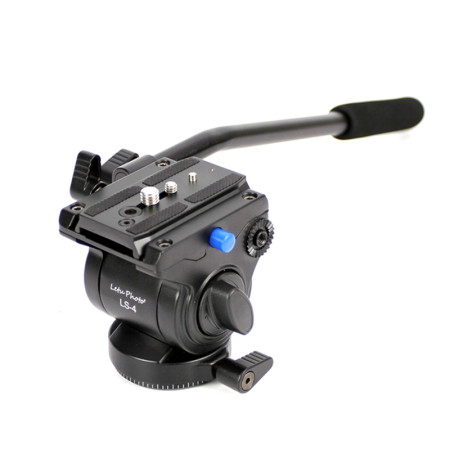 XILETU Professional Video Camera Fluid Drag Tripod Head with Quick Release for DSLR Camera Camcorder Shooting