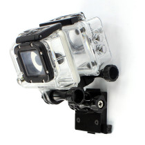 Gopro Accessories CNC Aluminum Bracket+ Multi Mount Adapter+Screws Helmet Accessories for GoPro HERO3/3+/4/5 accessories