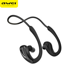 Awei A880BL Wireless Bluetooth Earphone with Mic Sport Stereo Earhook Headset NFC Stereo Earphone for Smart Phone /PC