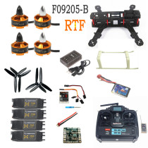 Mini 250 Carbon Fiber Aircraft Frame RTF Kit with Radiolink T6EHP-E TX&RX Battery Charger Full Assembled